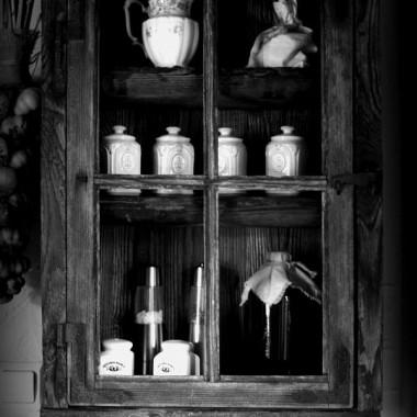 Kuchnia w rustykalnym stylu.