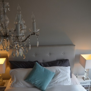 Sypialnia w trakcie zmian