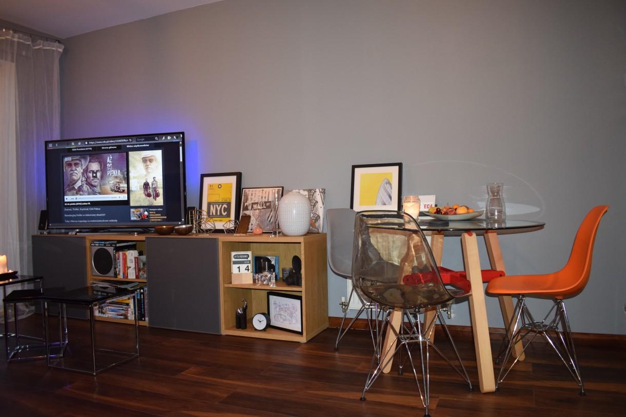 Salon, mieszkanie , kawaler - Salon