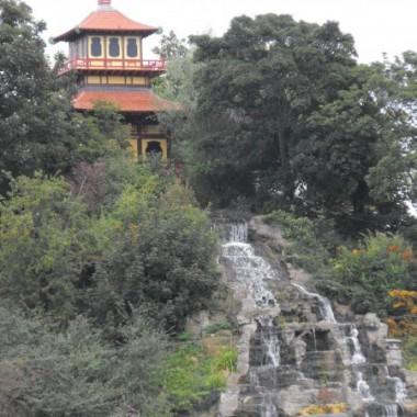 Chiński ogród w Scarborough,UK