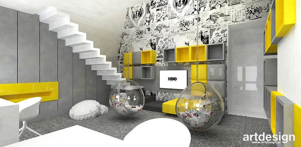 Garderoba, ARTDESIGN PERFORMANCE. Wnętrza domu (cz. 2) - aranżacja pokoju dzieci