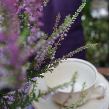 O Ptaszniku, moim balkoniku, opowiem Wam bajkę&#x3B; gdy kwitły wrzosy a o śniegu jeszcze nikt nie marzył - nawet wróbelki... Było kwieciście, było liliowo, radośnie i kolorowo. A potem zawiało chłodem, zamroziło, naprószyło, nastraszyło i  przyszła biała Pani Zima... I herbatka z prądem też przyszła. &#x3B;)
