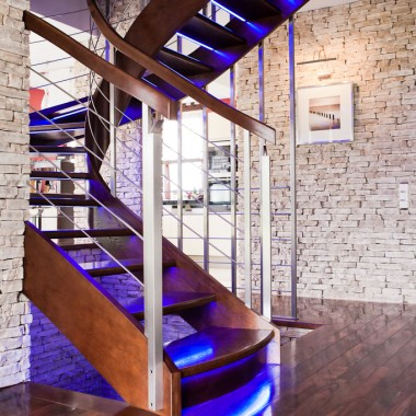 Aranżacja i wystrój klatki schodowej