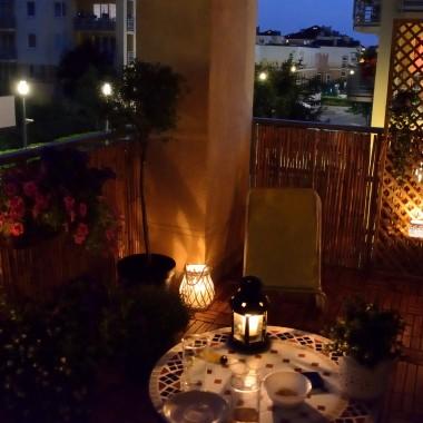 Mój balkon latem :)