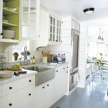 Dla WSZYSTKICH MARZĄCYCH O białej kuchni, łyk inspiracji.