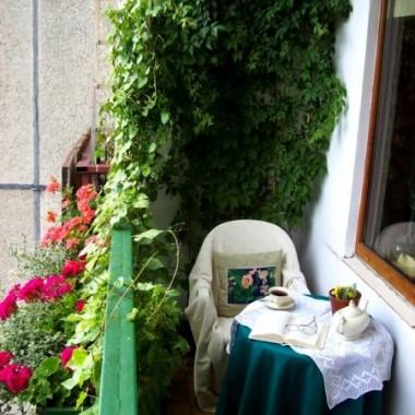 Balkon,miejsce w którym lubię wypoczywać