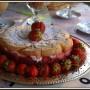 Pozostałe, Galeria z akcentem kwiatowo-truskawkowym:) - I serniczek z truskawkami....