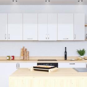 Biała kuchnia - praktyczny styl skandynawski