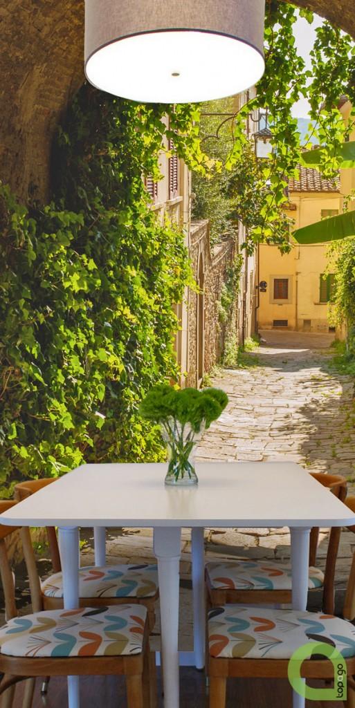 Kupię, Fototapety uliczki - Fototapety uliczka zielona