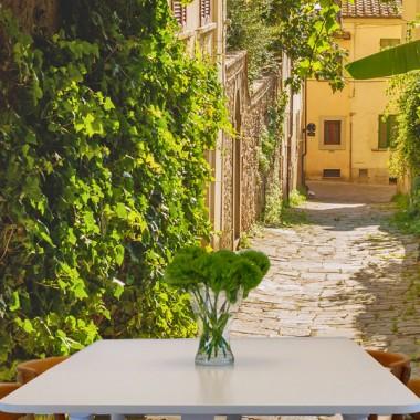 Fototapety uliczka zielona