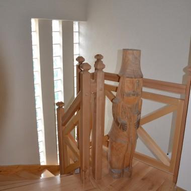 drewniane schody