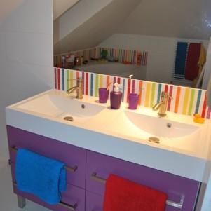 Łazienka trzylatka i pięciolatki