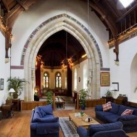 Zniszczony gruziński Kościół przekształcony w dom mieszkalny