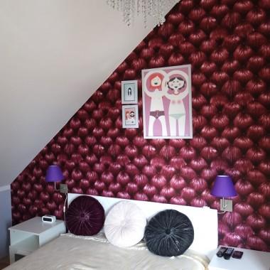Sypialnia - częściowo urządzona