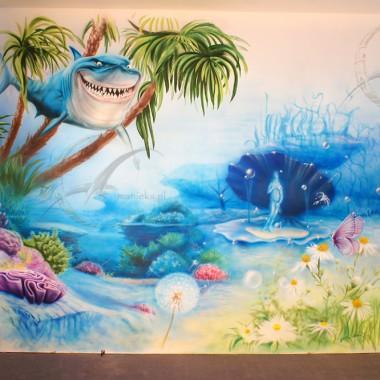 malunki na scianach dla dzieci