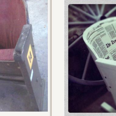 W bieli. Fotele kinowe w nowej odsłonie.