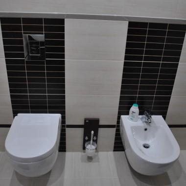 łazienka  kremowa wenge
