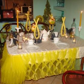 dekoracje stołow
