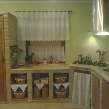 Moja kuchnia murowana decorią, wsią i cegłą inspirowana :-)