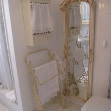 Moja biała łazieneczka.