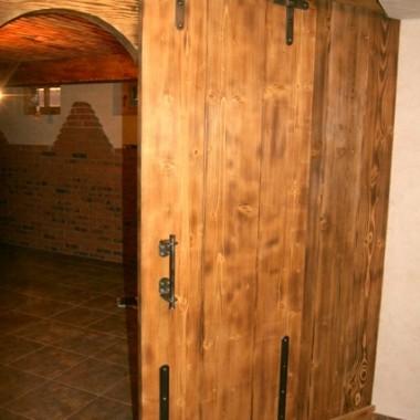 drzwi drewniane - wariacje