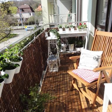 Debiut naszego balkonu