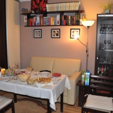 3 w 1 - pokój gościnny, jadalnia, sypialnia
