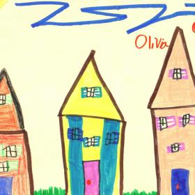 Rysunek Twojego Dziecka na tapecie ściennej deKEA