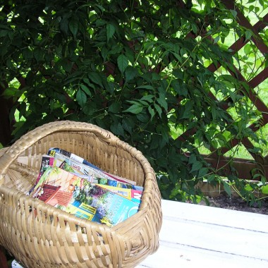 kosz na fachową prase ogrodniczą