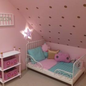Pokój 3-letniej córci w domku rekreacyjnym (weekendowym)