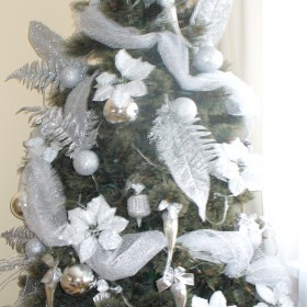Święta choinka ozdoby świąteczne