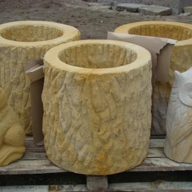Duży wybór wyrobów z piaskowca naturalnego