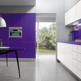 kuchnie z kolorkiem