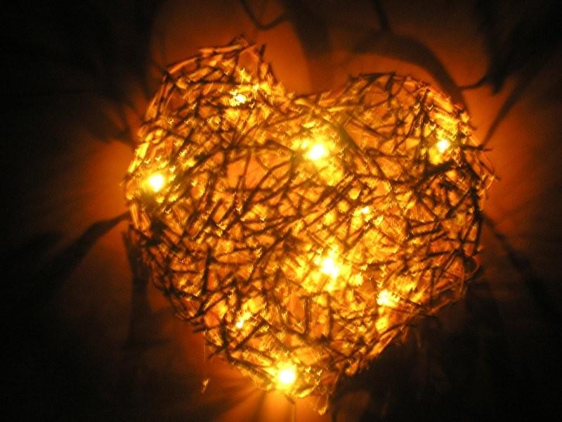 Rośliny, W MOIM DOMECZKU - Specjalnie na prośbę jednej deccorowiczki- moja lampka nocą- jest jak najbardziej bezpieczna, ponieważ wykorzystałam do niej lampki choinkowe:)