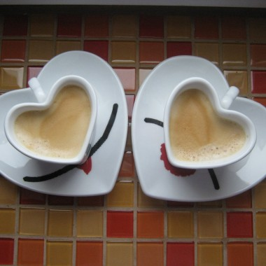Walentynkowa kawa:)