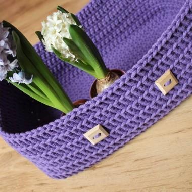 Wiosenny koszyczek! na kwiaty, zioła i inne pierdółki