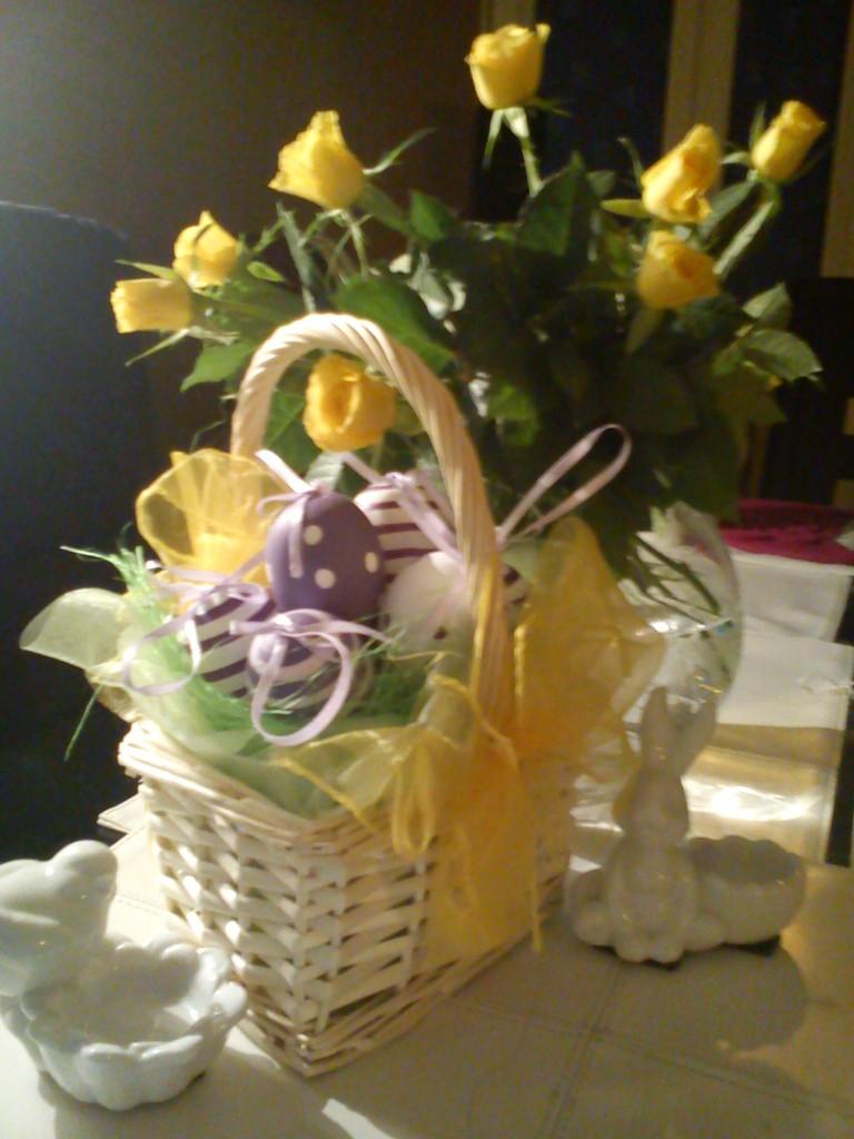 Dekoracje, Wielkanoc w fiolecie.