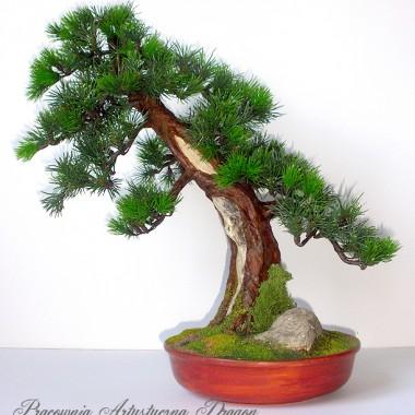 Sztuczne drzewko bonsai Bonsai Zokei w stylu Shakan
