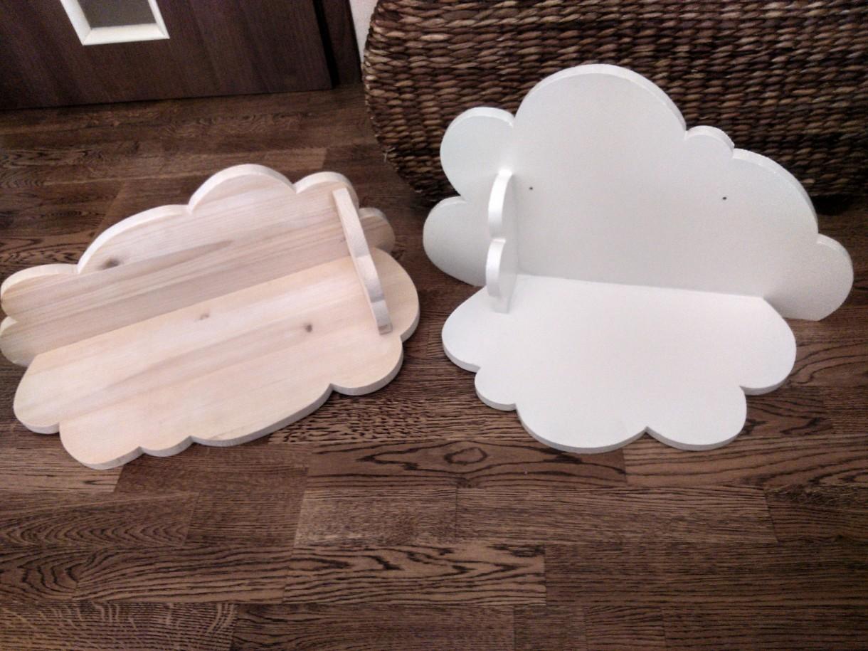 Dekoratorzy, Ręcznie robione - półki chmurki