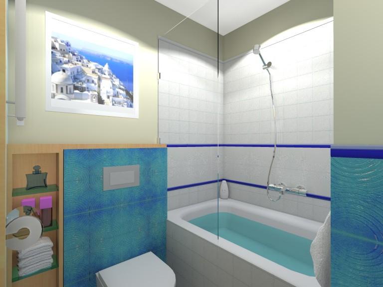łazienka W Greckim Stylu Deccoriapl