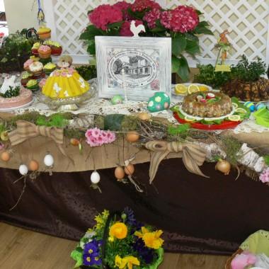 Wielkanocny stół wilijkowy