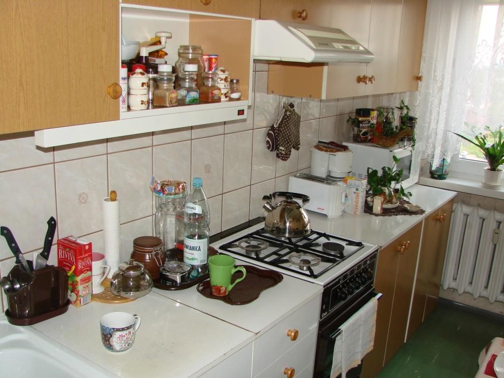 Kuchnia, Kuchnia dawniej i dziś - Tak wyglądała kuchnia, gdy kupiliśmy mieszkanie