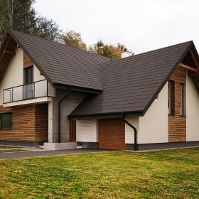 Projekt elewacji domu jednorodzinnego