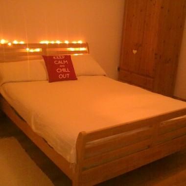 Moja nowa sypialnia jeszcze w proszku