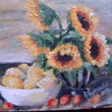 Moja Mama rzuciła palenie i...zamiast tego zaczęła malować obrazy farbami olejnymi! Jestem z Niej bardzo dumna:))))) A jak się wam podoba? Część z nich zawiśnie  8 grudnia na wystawie indywidualnej, a co za tym idzie...będzie trwała wyprzedaż świąteczna&#x3B;) Szkoda, że mam tak mało wolnych ścian w mieszkanku bo sama bym coś powiesiła&#x3B;)