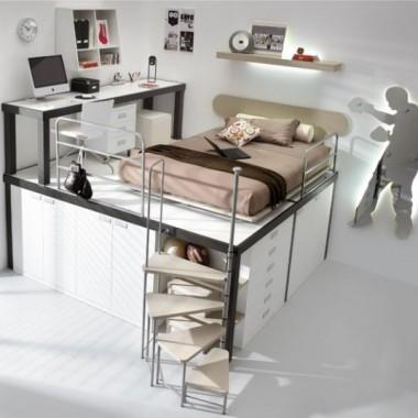 sprytne pokoje dla dzieciakow