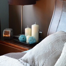 sypialnia w nowych kolorach