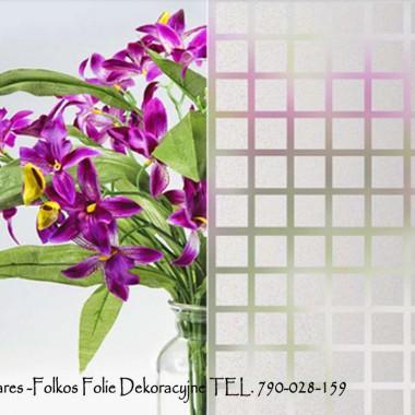 Dekoracje okienne- Folie na BALKONY