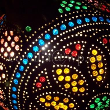 Tykwa, Lampa z Tykwy, Rękodzieło, wzór turecki