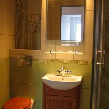 Bambusowa łazienka